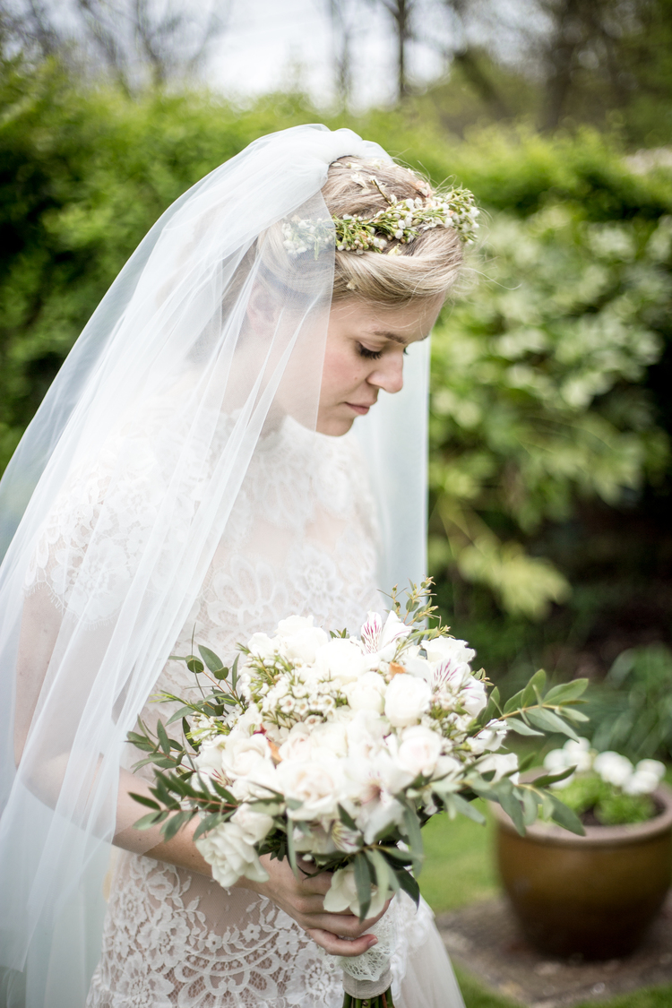 Wedding Photography of a Greenery trend floristry.