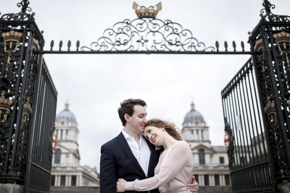 Greenwich Royal Navy College Engagement Shoot