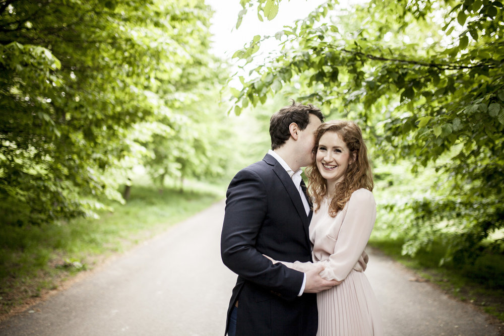 Country London Engagement Shoot