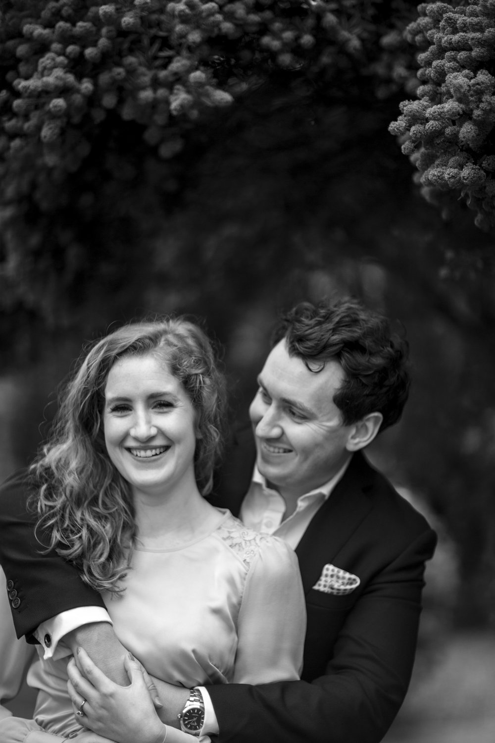 Greenwich wedding couple