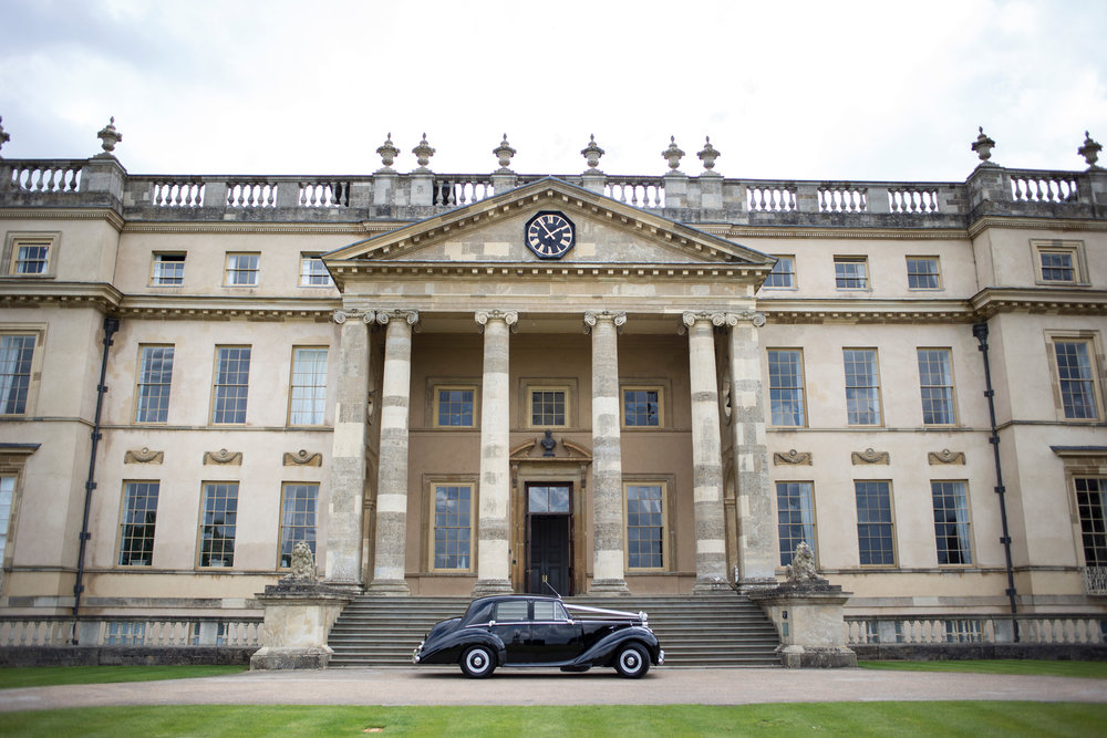 Stowe House, Buckinghamshire Wedding, Rolls Royce,