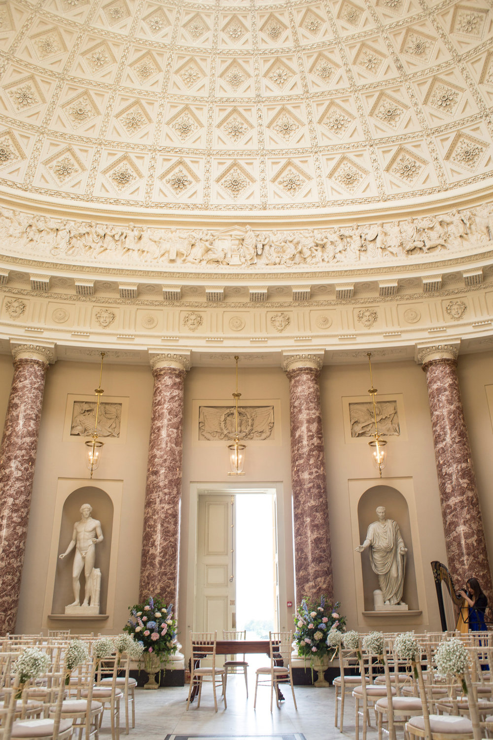 Stowe House, Summer Wedding, Luxe Wedding,