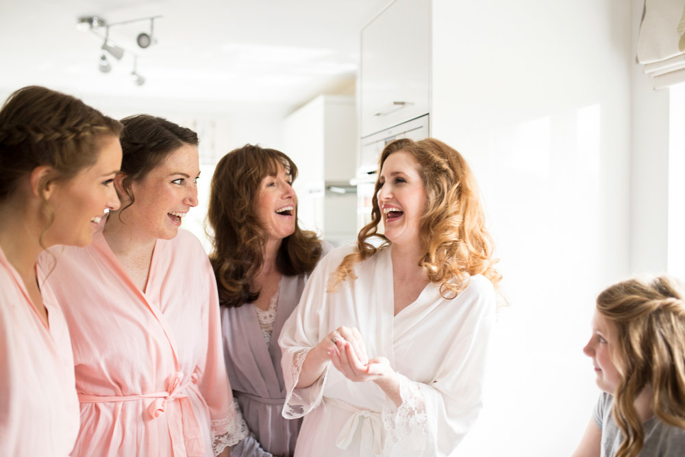 Bridesmaids, morning, Buckinghamshire Wedding,