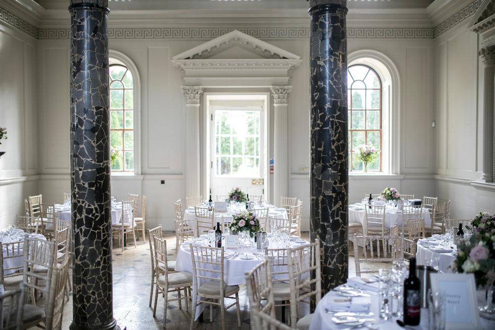 Chicheley Hall, Reception, Luxury Wedding Venue, Buckinghamshire Wedding Venue,