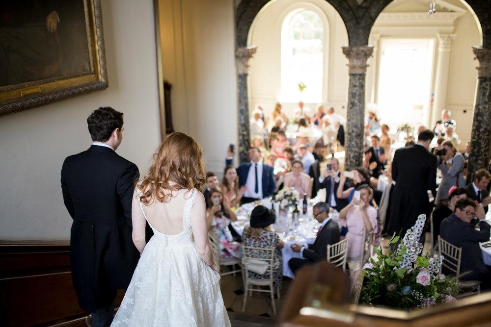 Wedding Breakfast, Wedding Entrance, Buckinghamshire Wedding