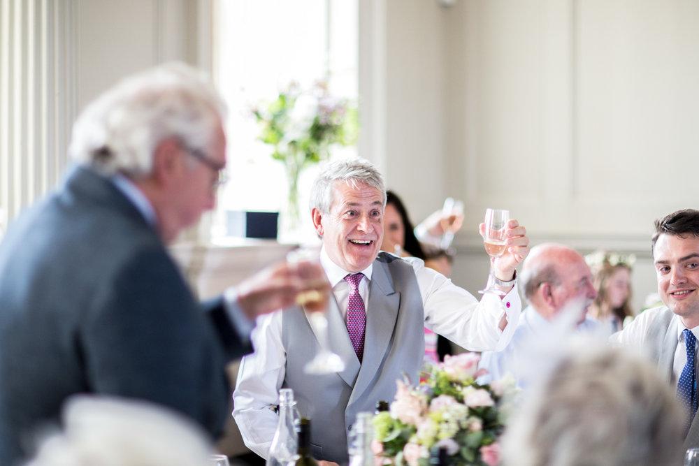 FOTB, Cheers, Champagne, Wedding Breakfast, Wedding Speeches,