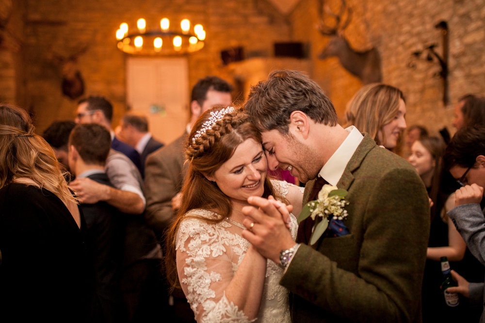 First Dance, Happy Couple, Lace Dress, Bedfordshire Wedding,