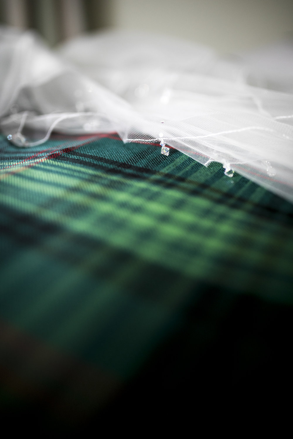 Tartan, Veil, Scottish Wedding,