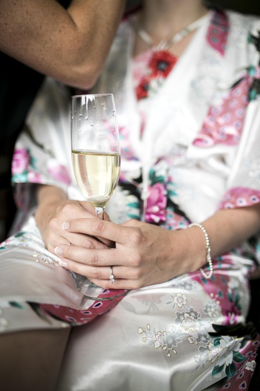 Champagne, Bridal Preporations,