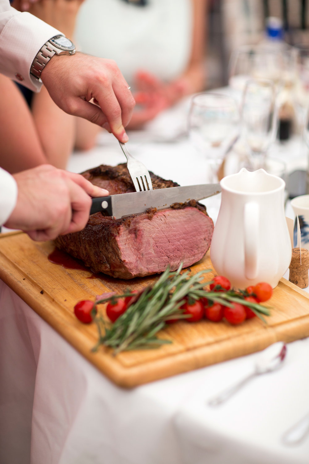Meat Carving, Wedding Breakfast,