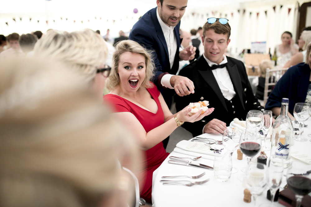 Wedding Guests, Sweets, Marquee Wedding,