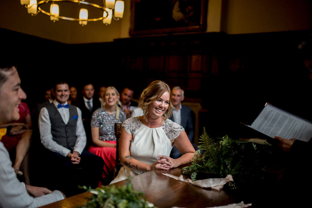 Oxford Wedding, Oxford town hall,