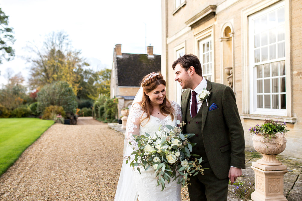 Hinwick House, Bedfordshire Autumn Wedding