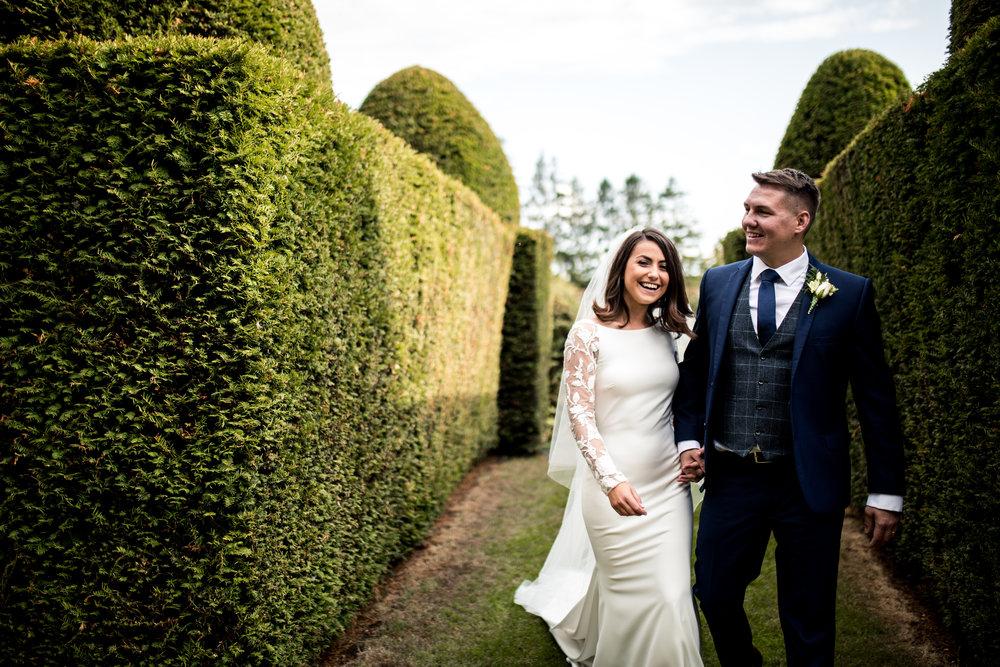 Glamorous Garden Wedding,