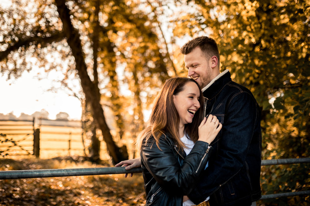 Autumn Country Engagement Shoot