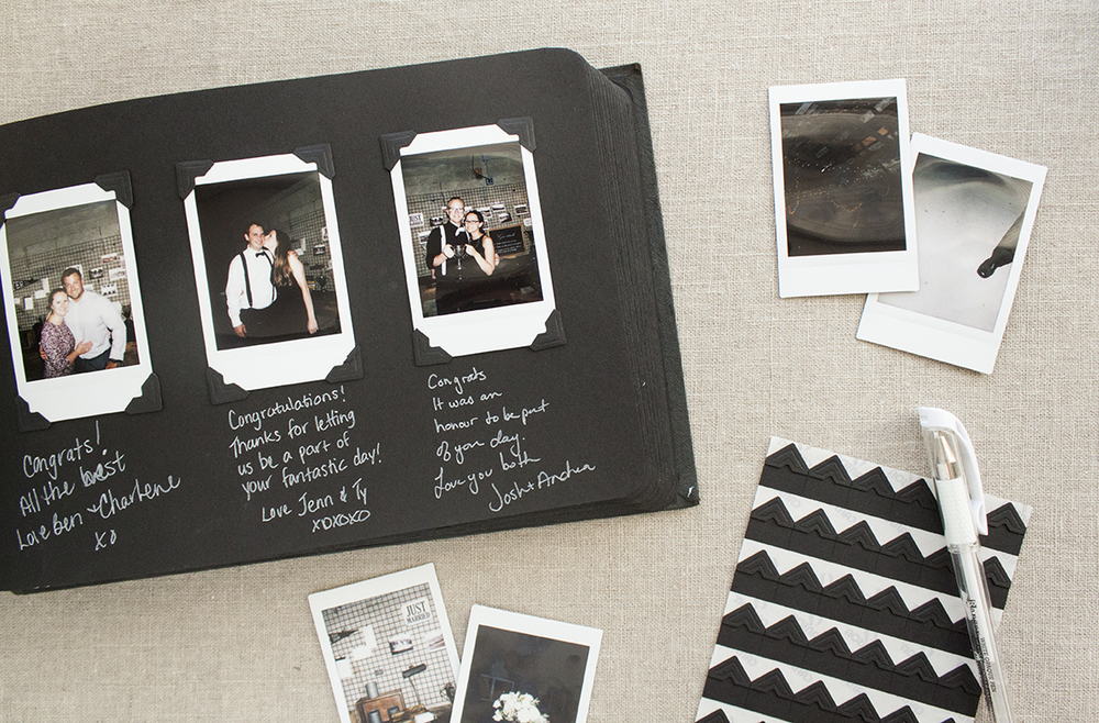 diy vintage photo album guestbook utility house. Black Bedroom Furniture Sets. Home Design Ideas