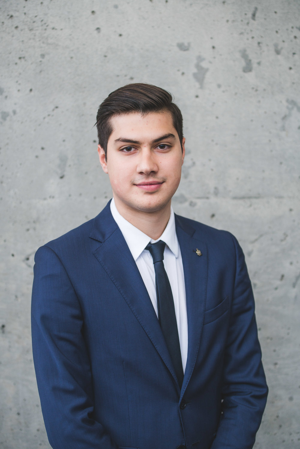 Andreas Kougionas FIrst Year - Bachelor of Commerce