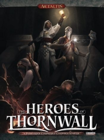 Heroes of Thornwall, RPG game book for Aetaltis setting, Mechanical Muse LLC