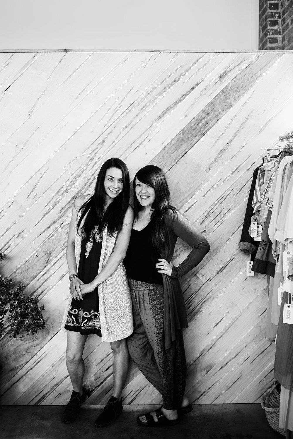 Tara of La Lovely Vintage and Brandee of Judith & Joe