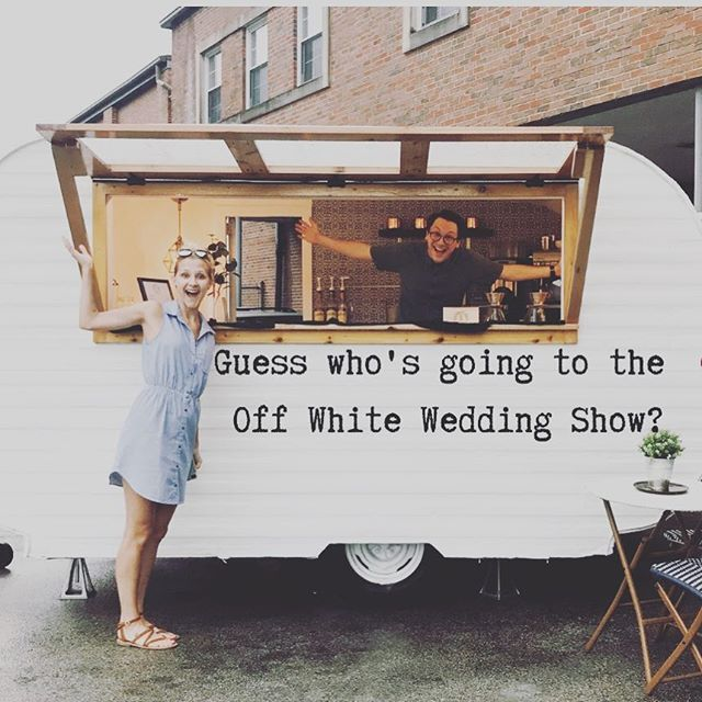 Wilfred!!!! We are SO excited to be apart of the @offwhitestl wedding show in St. Louis on Sunday, March 3rd! . Stay tuned for more details and a giveaway to the show 🎉 . #wilfredthesilocamper #wheregoodthingsgather #stl #stlwedding #stlcoffee #mobilecoffee