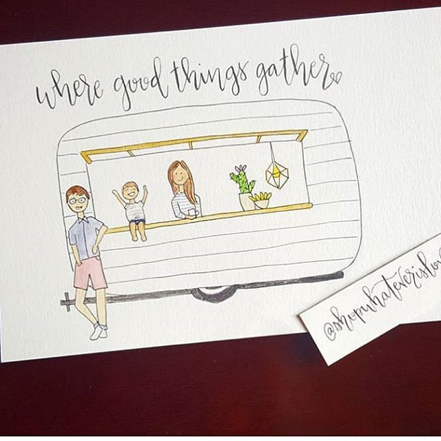 #repost: - @shopwhateverislovely - this is SO cute! 😍 #mobilecoffee #saywhat #wilfredthesilocamper - 📷: @shopwhateverislovely