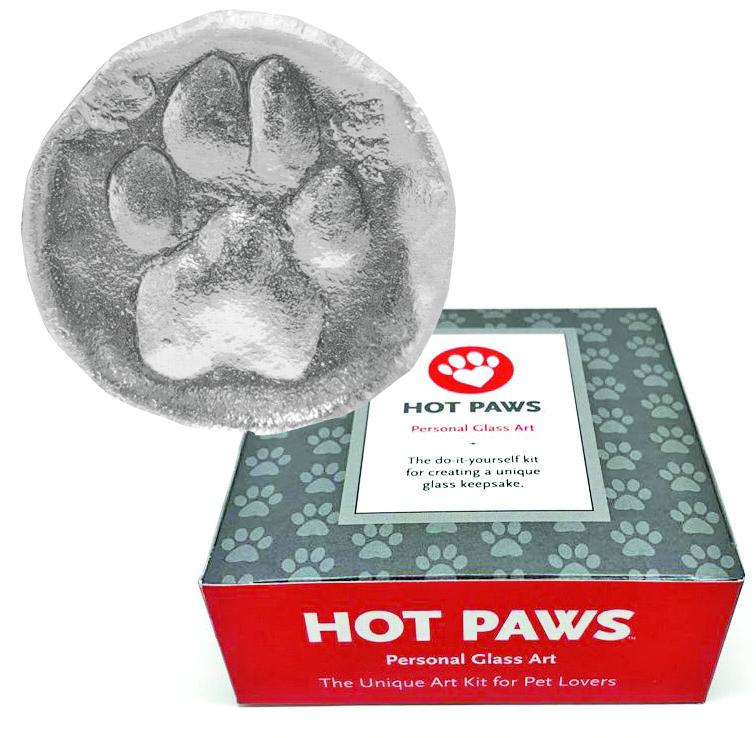 Personalized Glass Paw Print Keepsake — shop moderndogmagazine com Modern  Dog Shop