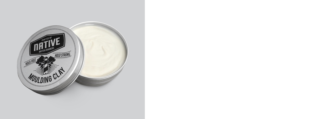 Native Hair Products Moulding Clay, perfect for short hair.