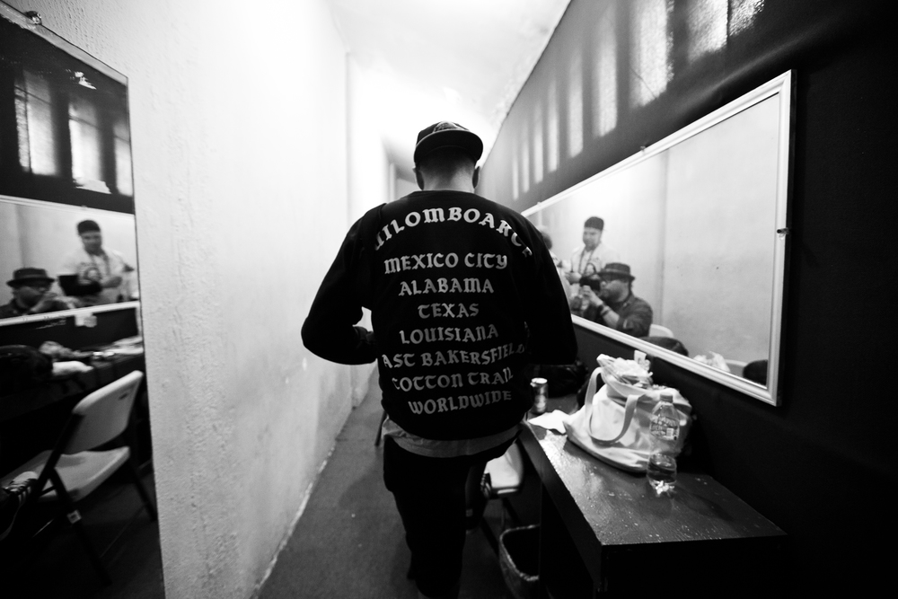 Backstage, Quilomboarte 10 aniversario Mexico City 2015, Pic by Magee Mcllvaine
