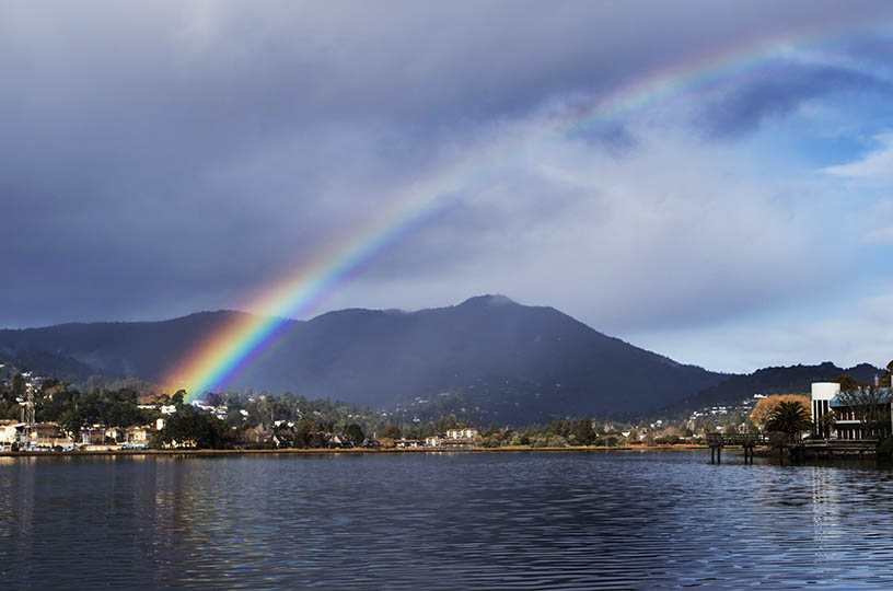 Rainbow, Mount Tam, California, Mill Valley
