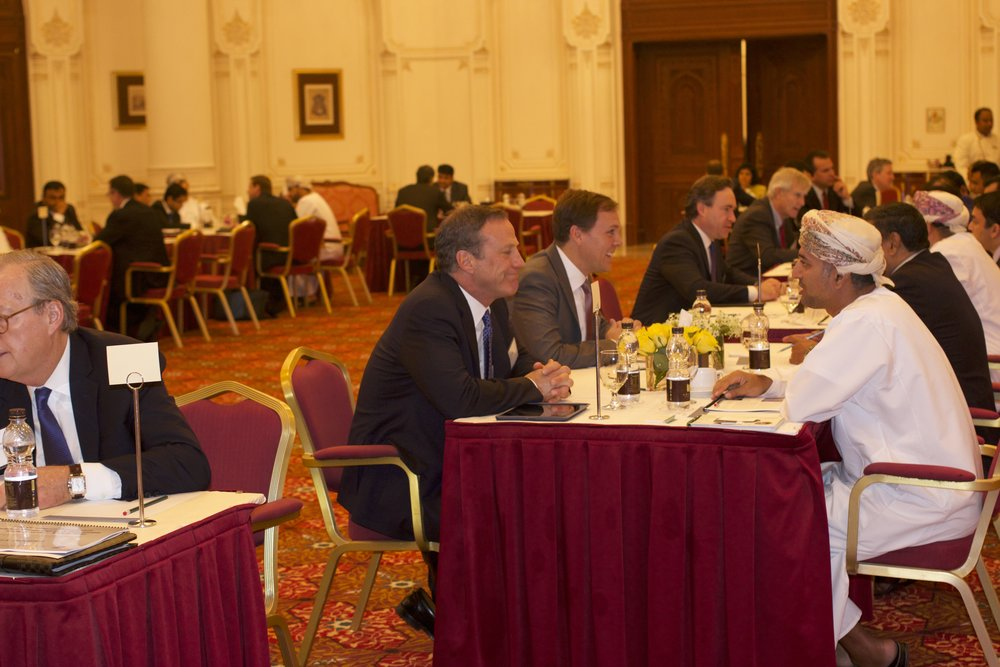 U.S. Delegates Meet with Dozens of Omani Investors