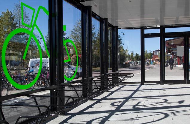 Cykelgarage - Rymd och ljus för komfort och trygghet