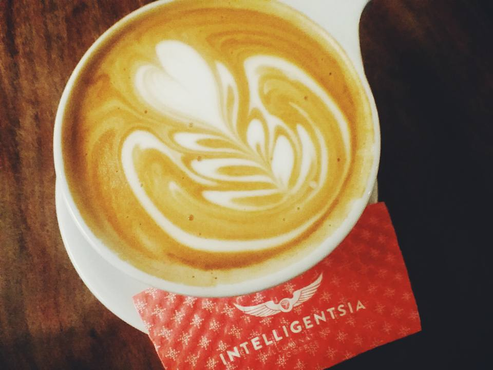 Intelligentsia coffee - Latte