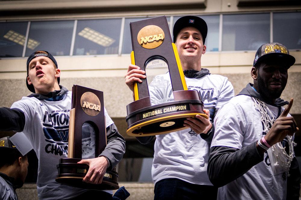 Villanova wins the NCAA Championship