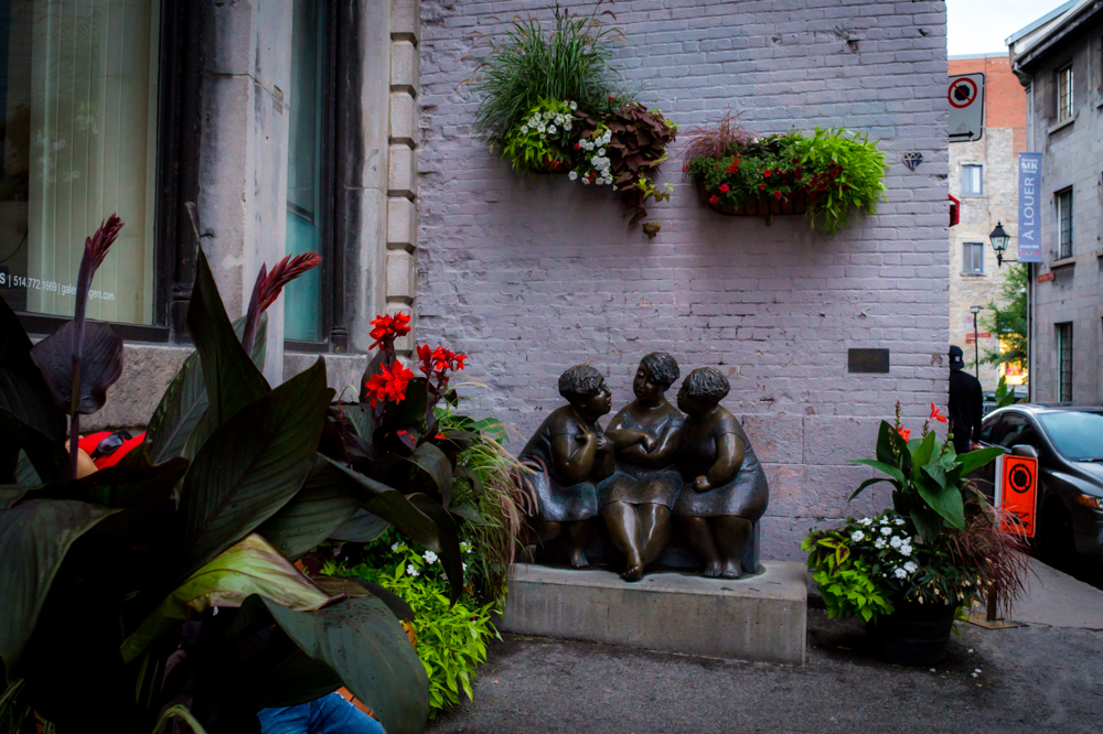 Statues of Montreal