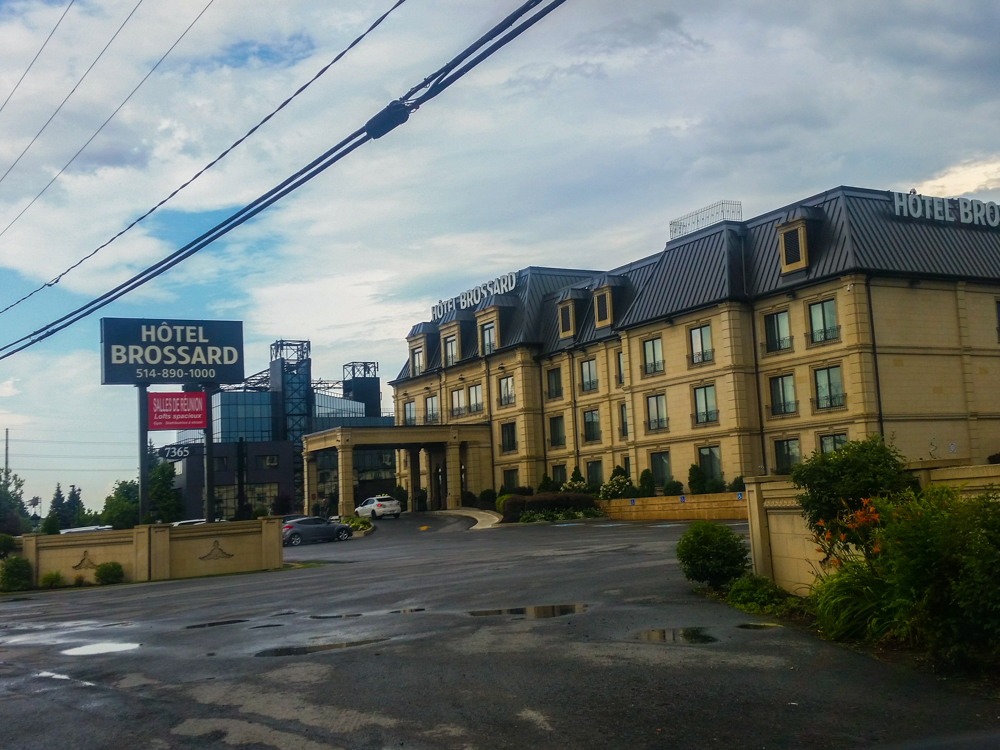 Hotel Brossard, Montreal, QC (Mobile Photo: Samsung Galaxy s5 + VSCO