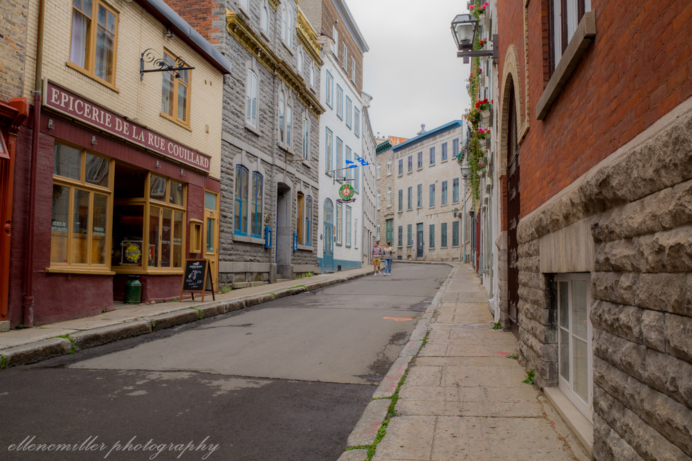 Streets of Quebec City