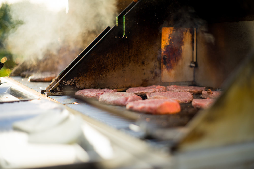 Burgers on the Grill | Shot for Rivercrest Golf Club