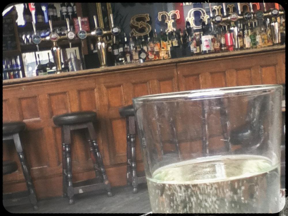 Briska pear cider at The Old Blue Last pub, East London