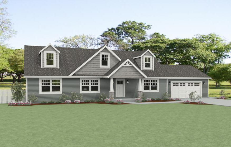 The andover d w homes for Unibilt homes pricing