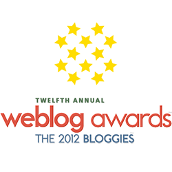 The 2012 Bloggies | Finalist | Best Canadian Weblog