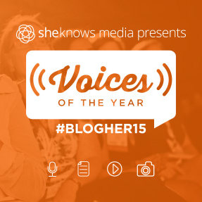 SheKnows Media's Voices of the Year at BlogHer 15