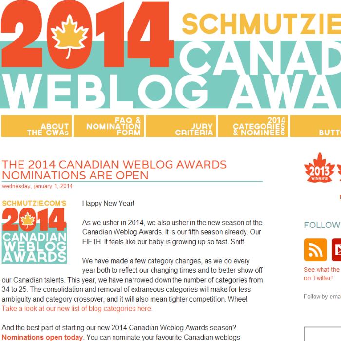 Canadian Blog Awards