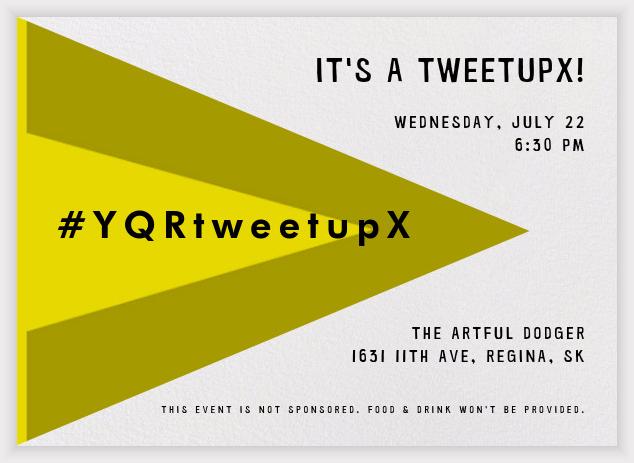 YQRtweetupX invite