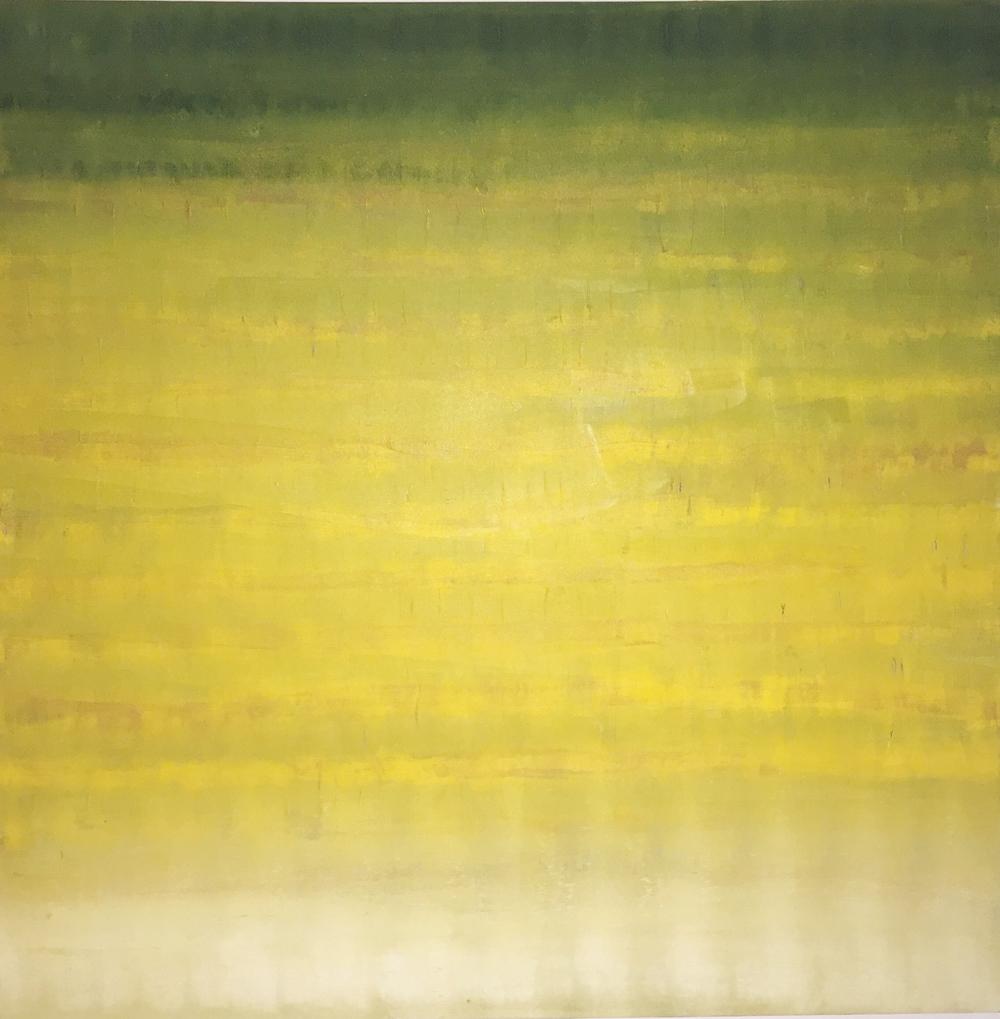 Ausencia Oil on Canvas 48 x 48 $3,000