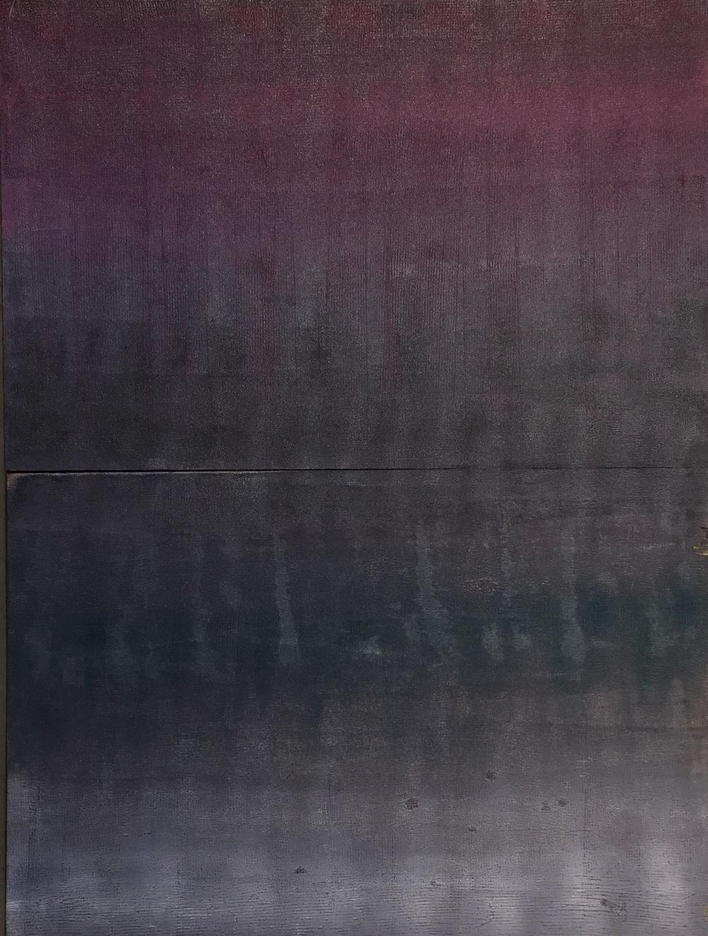 Die Before You Die Oil on 2 Panels  48 x 36 $3,000