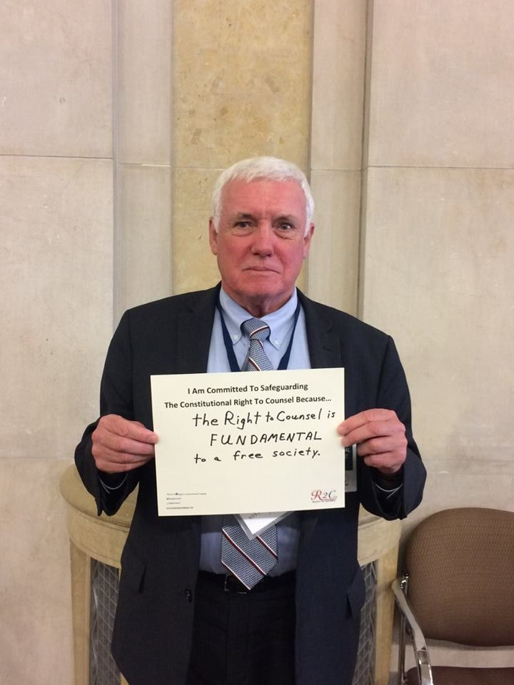 William Leahy #WhyImCommitted #SafeguardingRightToCounsel