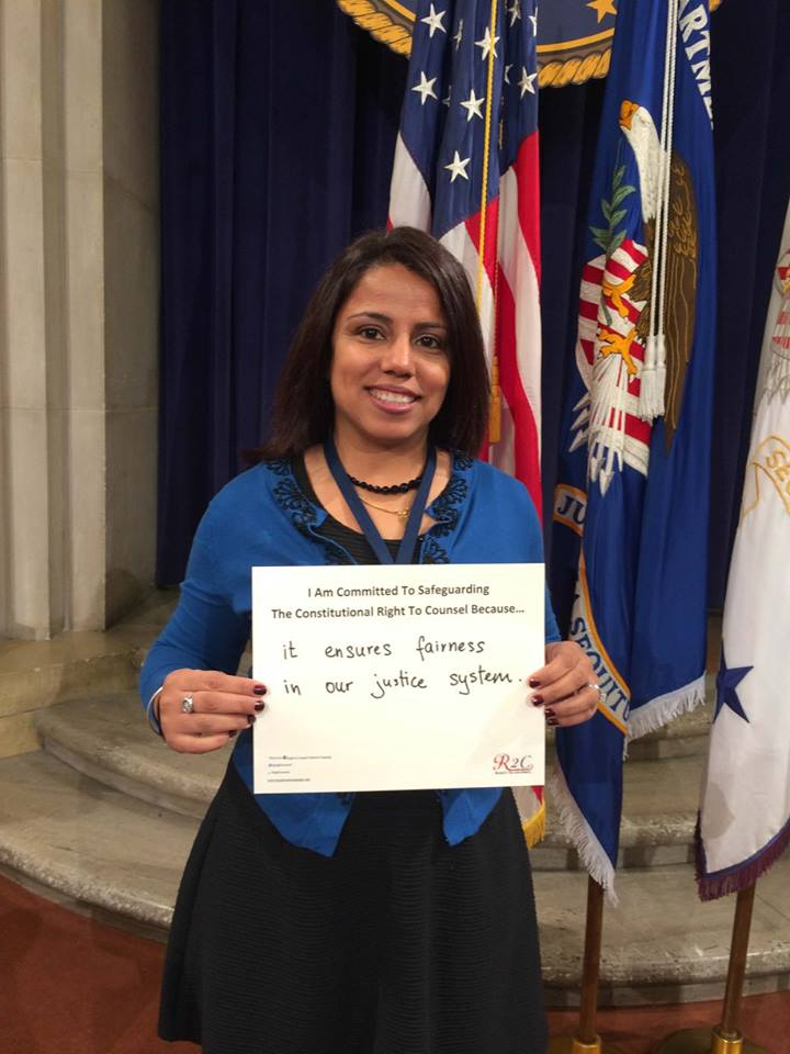 Preeti Menon #WhyImCommitted #SafeguardingRightToCounsel