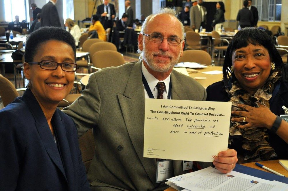 Angela Kiper, David Porter, and Judge Bernice Donald #WhyImCommitted #SafeguardingRightToCounsel