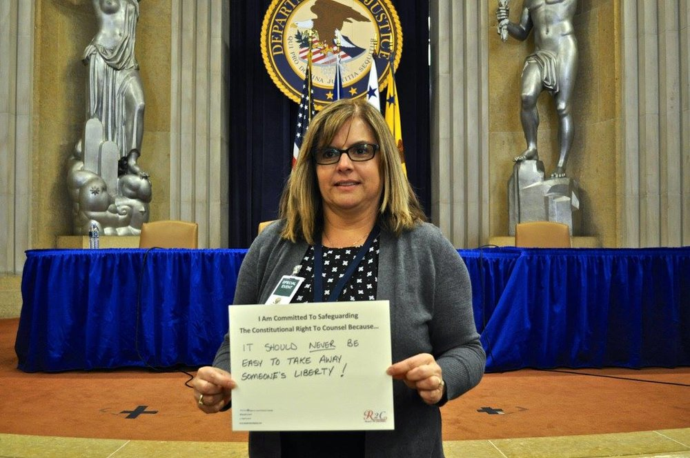 Jeanie Vela #WhyImCommitted #SafeguardingRightToCounsel