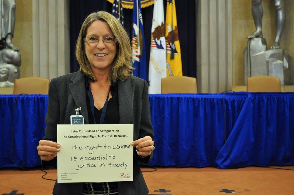 Alisa Smith #WhyImCommitted #SafeguardingRightToCounsel